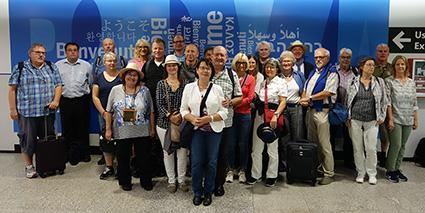 Ankunft in Rom (Flughafen)