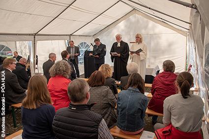 Ökumenischer Gottesdienst im Hessischen Polizeipräsidium für Technik